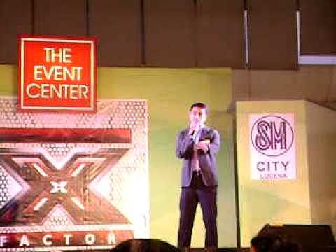 X Factor Philippines   Lucena City - Audition - Ikaw by: Ramon Peñaflorida