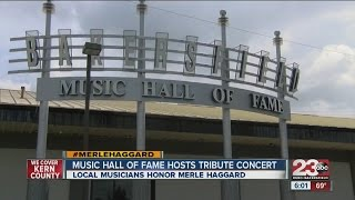 Local musicians pay tribute to Merle Haggard