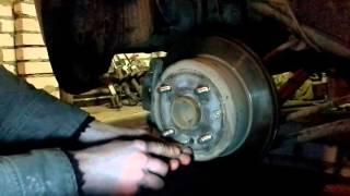 Натяжка ручника на Chevrolet Lacetti