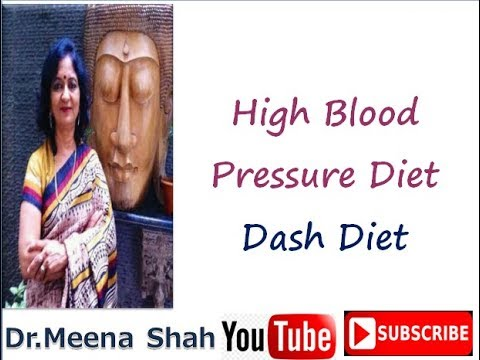 High Blood Pressure Diet | Dash Diet For High Blood Pressure | Hypertension Diet Chart