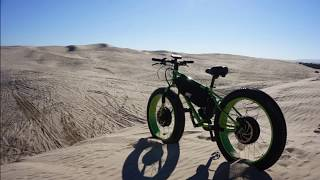 DUNESDAY- HPC BIGFOOT 10,000W 2WD Electric Bike Conquers the Dunes!