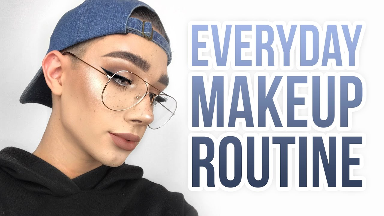 EVERYDAY EASY GLAM MAKEUP TUTORIAL + GLASSES - YouTube 5163d9ce36c9
