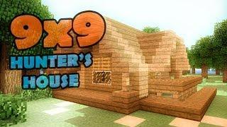 Minecraft 9x9 house - дом охотника.(Домик охотника самое простое убежище. Вам понадобиться немножко терпения и ресурсов. Удачного строительст..., 2013-10-18T12:31:58.000Z)