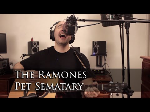 The Ramones - Pet Sematary (Acoustic Cover by Mike Peralta)