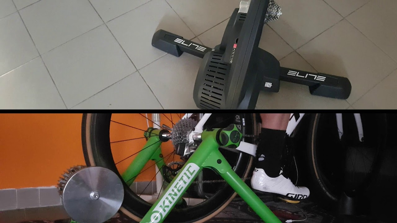 9c3eede5a8e Direct drive vs wheel-on trainer - what´s better for Zwift? - YouTube