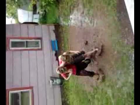 What we do in superior wisconsin on a rainyy day.