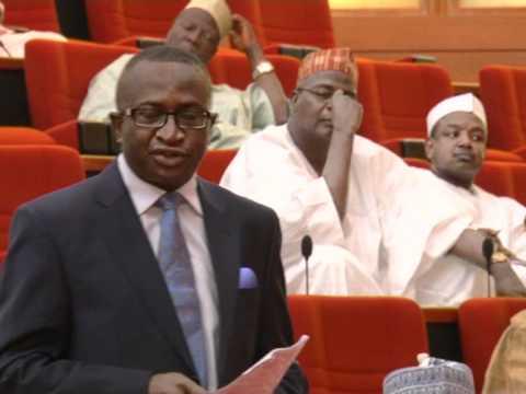 THE SENATE LEADER; Senator Victor Ndoma Egba on the Pension fund probe