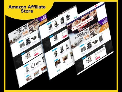 How To Create An Affiliate Online Store For Amazon, Ebay On Auto Pilot