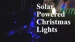 Solar Powered Christmas Lights Review Part 2 | EpicReviewGuys in 4k