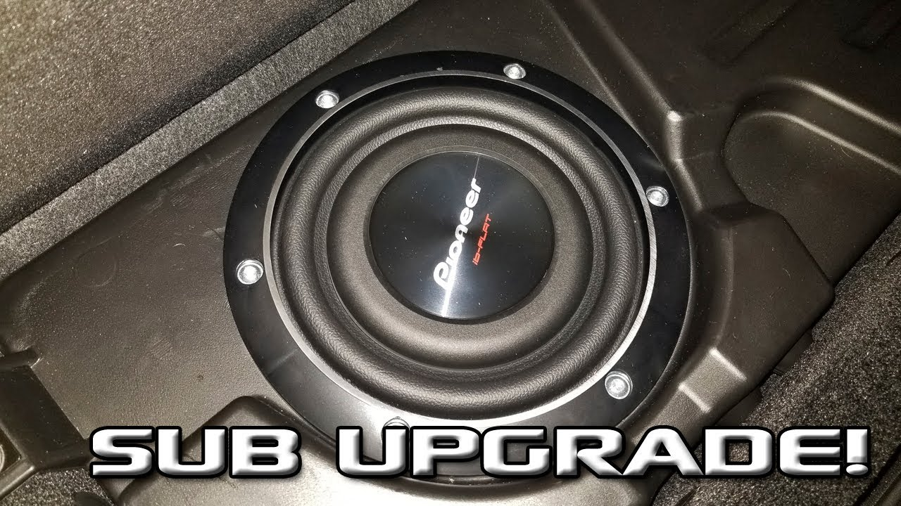 hight resolution of upgrading the sub in the ram with factory alpine stereo cold starting the bike