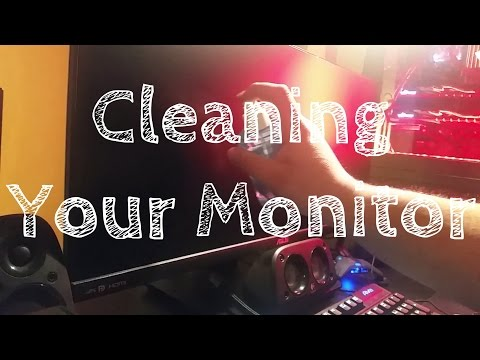 How to clean your monitor