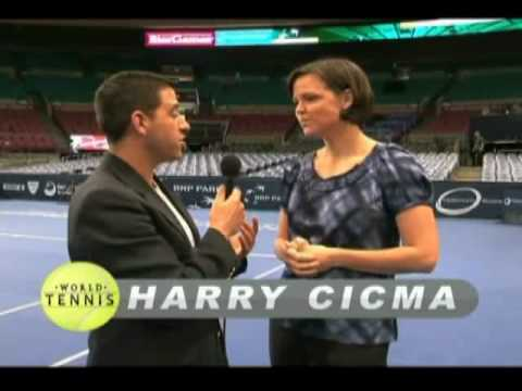 Lindsay Davenport interviewed by Harry Cicma for World Tennis Magazine