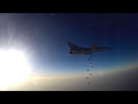 Russian warplanes bomb Syria from Iranian base