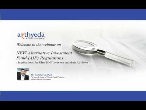 Webinar on Alternative Investment Fund Regulations - Implications for Ultra HNI Investors.