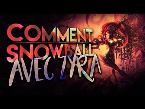 Snowball une game avec Zyra