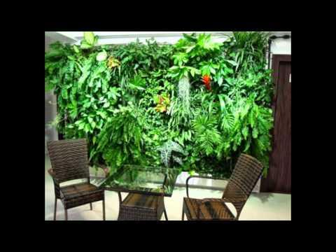 Artificial Plant Wall Amp Artificial Vertical Garden Youtube