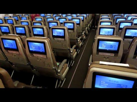 SWISS FANTASTIC ECONOMY CLASS   BOEING 777-300ER   HONG KONG-ZURICH