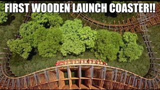 Lightning Rod - First Wooden LAUNCH Coaster - Dollywood