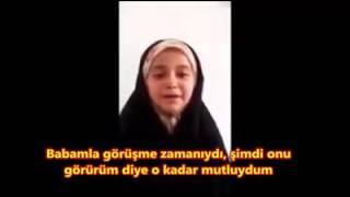 İran'da İdam Edilen Sünni Müslümanın Küçük Kızının Feryadı