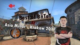 CS:GO - Best of BnTeT at Asia Minor - Krakow 2017 (Twitch highlights, insane plays, crazy shots)