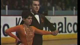 Irina Rodnina & Alexei Ulanov - 1969 World Figure Skating Championships LP