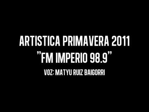Artistica PRIMAVERA 2011 - FM Imperio 98.9