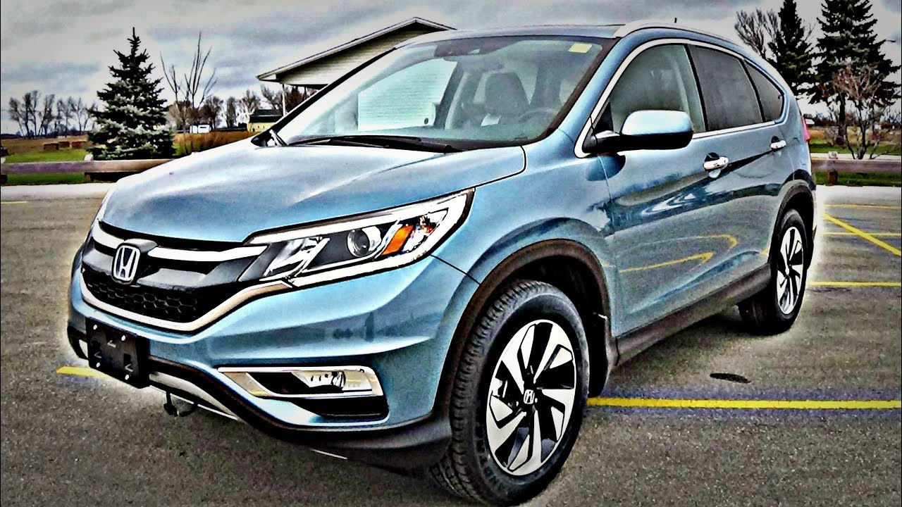 2016 honda cr v touring review