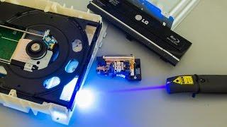 #24 Blu-Ray Laserpointer aus einem Brenner