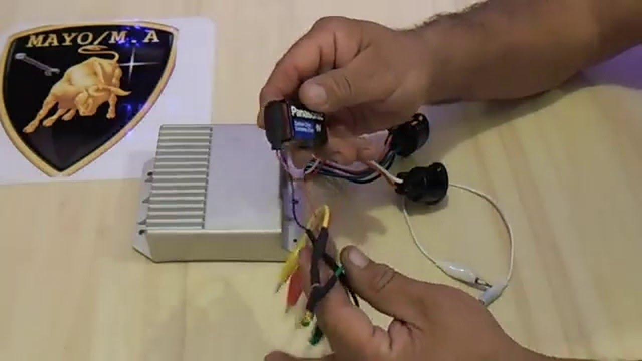 Como Probar Modulo De Encendido Ford Dura Spark 6 Terminales Youtube Duraspark 1 Wiring