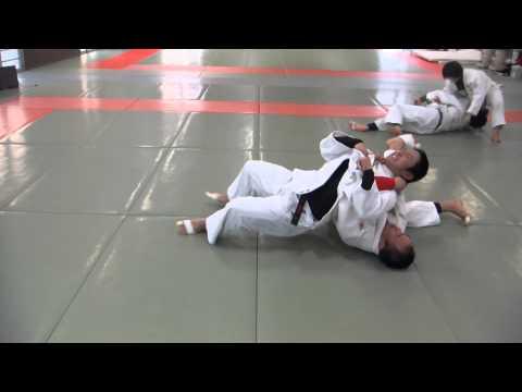 Helicopter/Hurricane Judo Choke Sowa High School Judo Club Ibaraki Prefecture