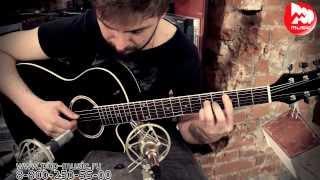 Дешевая акустическая гитара COLOMBO LF-401с