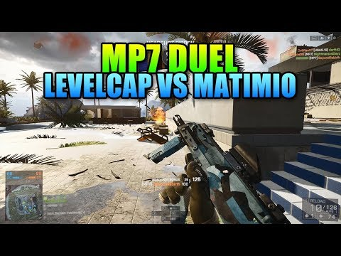 MP7 Duel - LevelCap vs Matimi0 | Battlefield 4