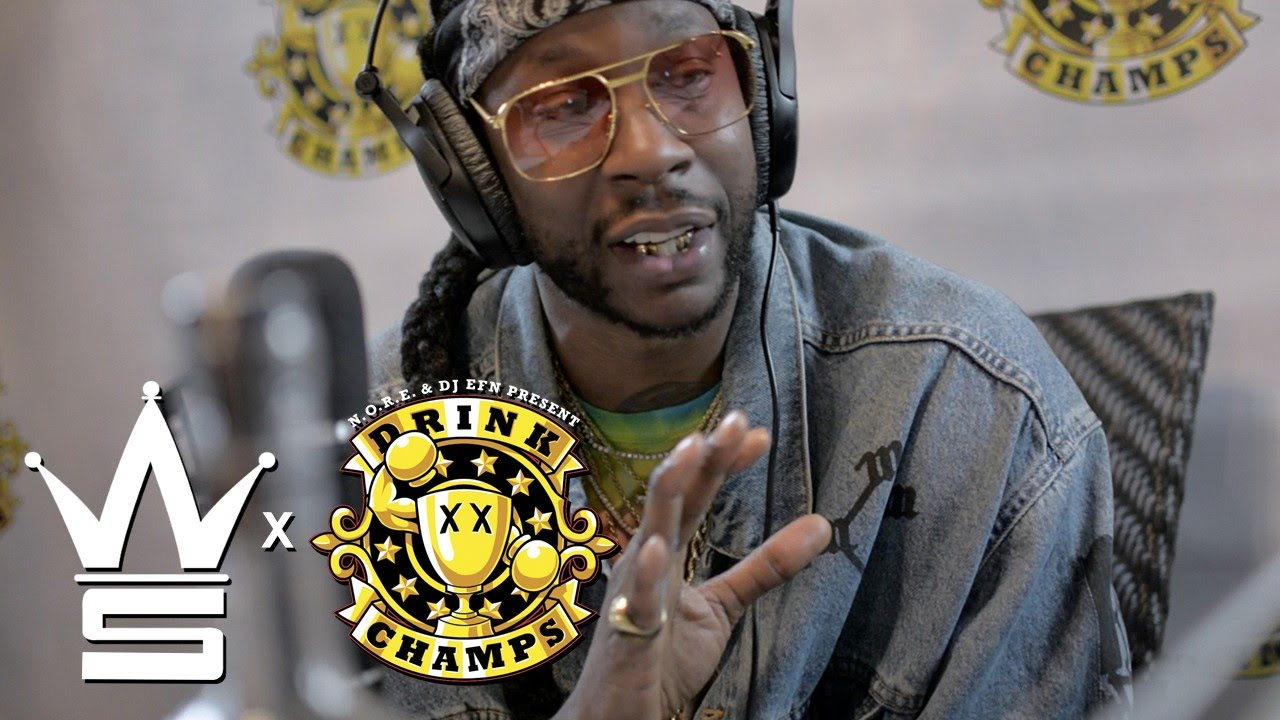 2 Chainz Talks People Drinking Fake Lean With The Drink Champs!