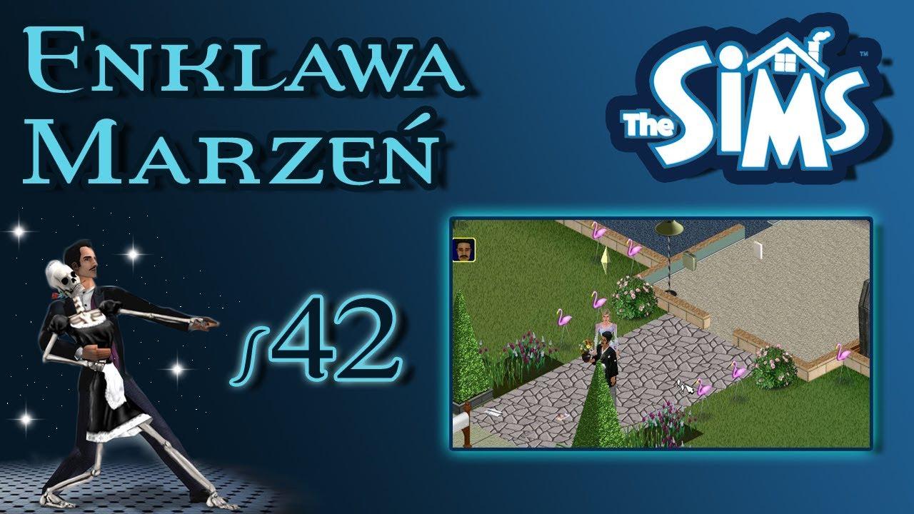 """Enklawa Marzeń odc. 42 – The Sims 1 – """"On dojada resztki!"""""""