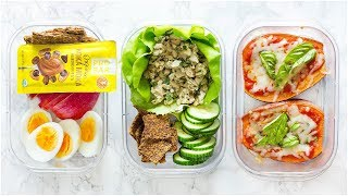 HEALTHY LUNCH IDEAS For Back To School 2018!