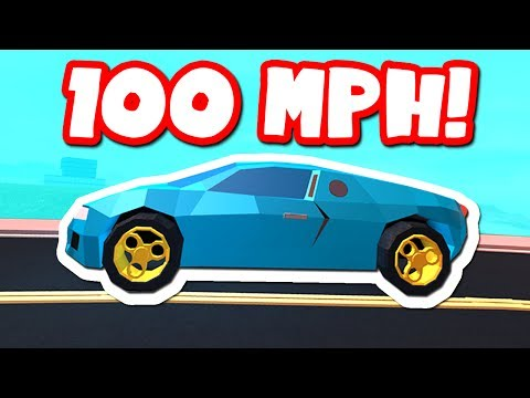 MAX SPEED IN A BUGATTI (Roblox Jailbreak)