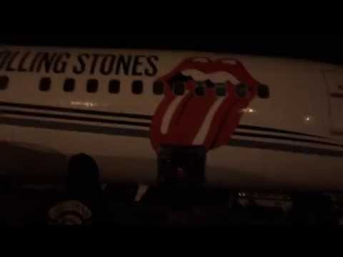 THE STONES LOANED US THE PRIVATE JET