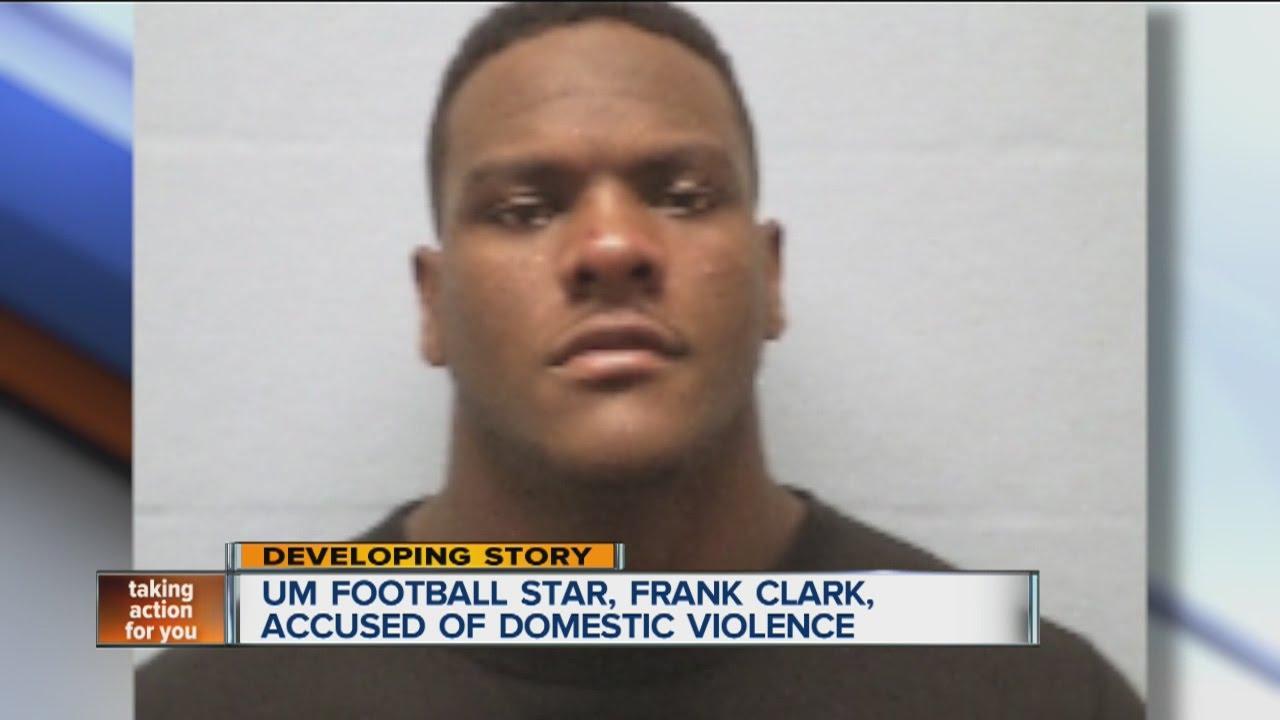 UM s Frank Clark is arrested