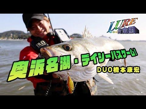 【ルアー合衆国】奥浜名湖・デイシーバス!in静岡県