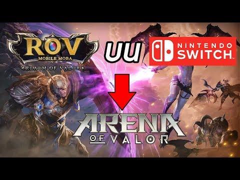 WTF !! RoV ลง Nintendo Switch ?! - Arena of Valor