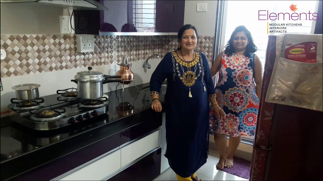 Client Review about Element Modular Kitchen Thane