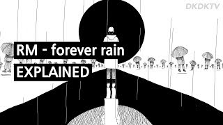 BTS RM - forever rain explained by a Korean