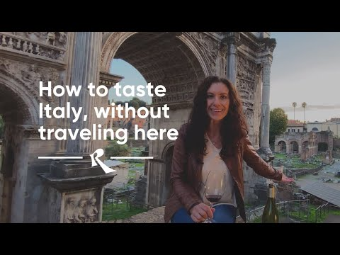 How to Taste Italy, without Traveling Here | Roscioli Wine Club