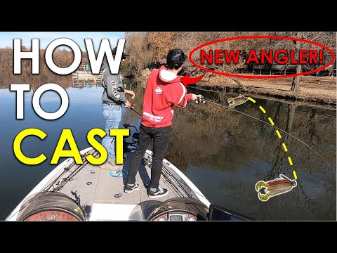 Cast Better In 10 Minutes With These 5 Easy Tips | Baitcaster Casting Instruction
