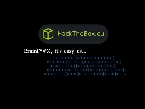 HackTheBox - Brainfuck