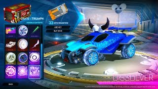 10x TRIUMPH CRATE OPENING - ROCKET LEAGUE Hogaty i Sylo - DUO SUPERMOCE RUMBLE