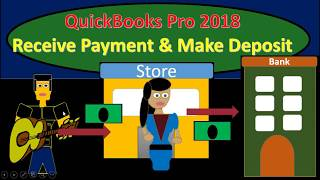 QuickBooks Pro 2018 Receive Payment & Make Deposit - New Version