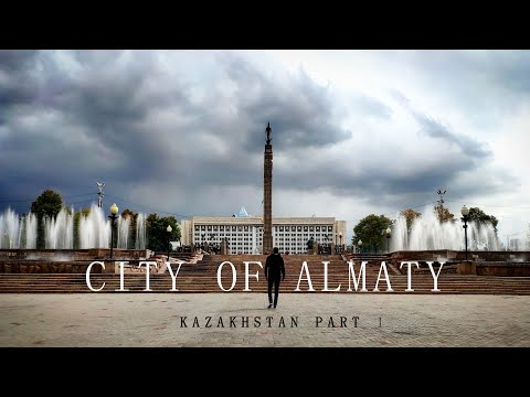 City of Almaty, Kazakhstan Vlog Part I (Don't trust what you see in movies)