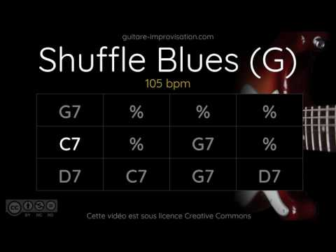 Blues Shuffle in G : Backing Track