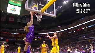 All Dunks in WNBA History Through 2017 Season! Video